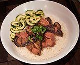 Braised Pork with Shitake Mushroom - Chinese Food Restaurant in Midtown & Leawood - Blue Koi - Menu Image