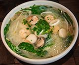 Seafood Noodle Soup - Chinese Food Restaurant in Midtown & Leawood - Blue Koi - Menu Image