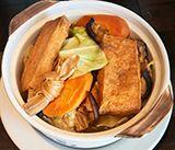 Vegan Delights - Chinese Food Restaurant in Midtown & Leawood - Blue Koi - Menu Image